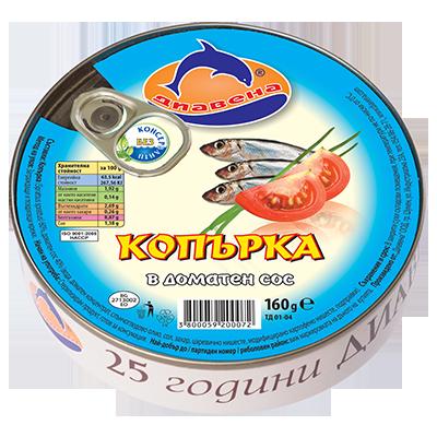 Sprat in tomato sauce