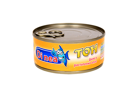 Tuna Fillets in Sunflower Oil