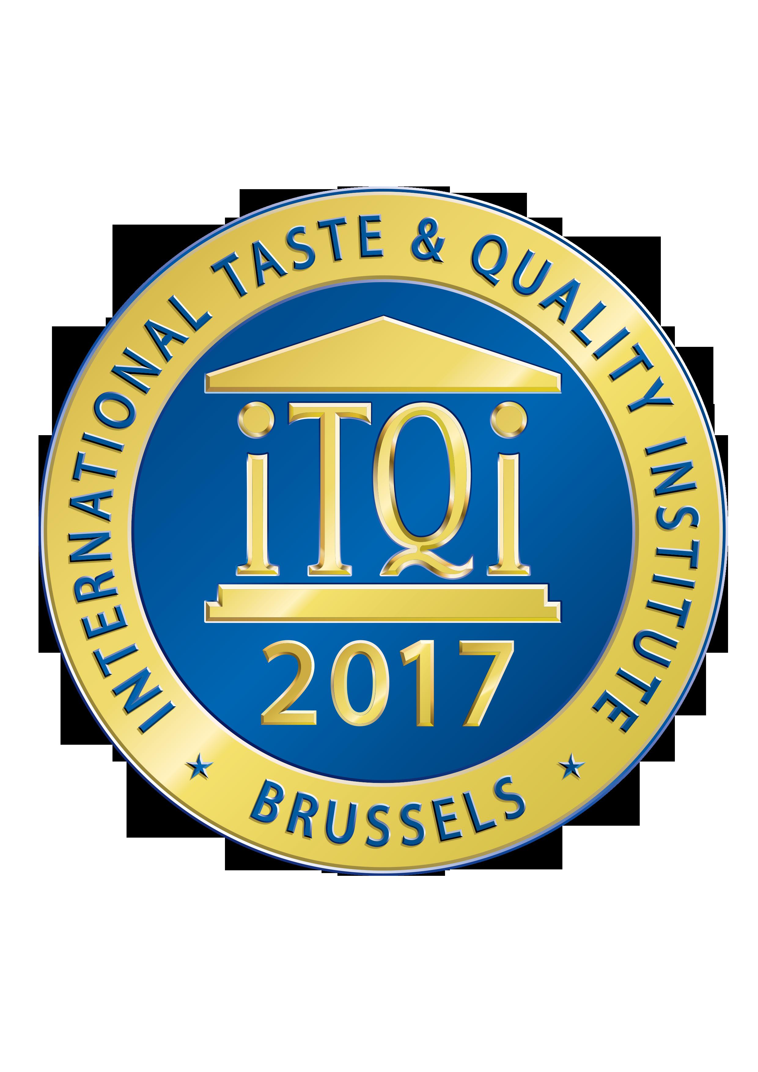 Βραβείο για άριστη γεύση από το iTQI - μετάλλιο