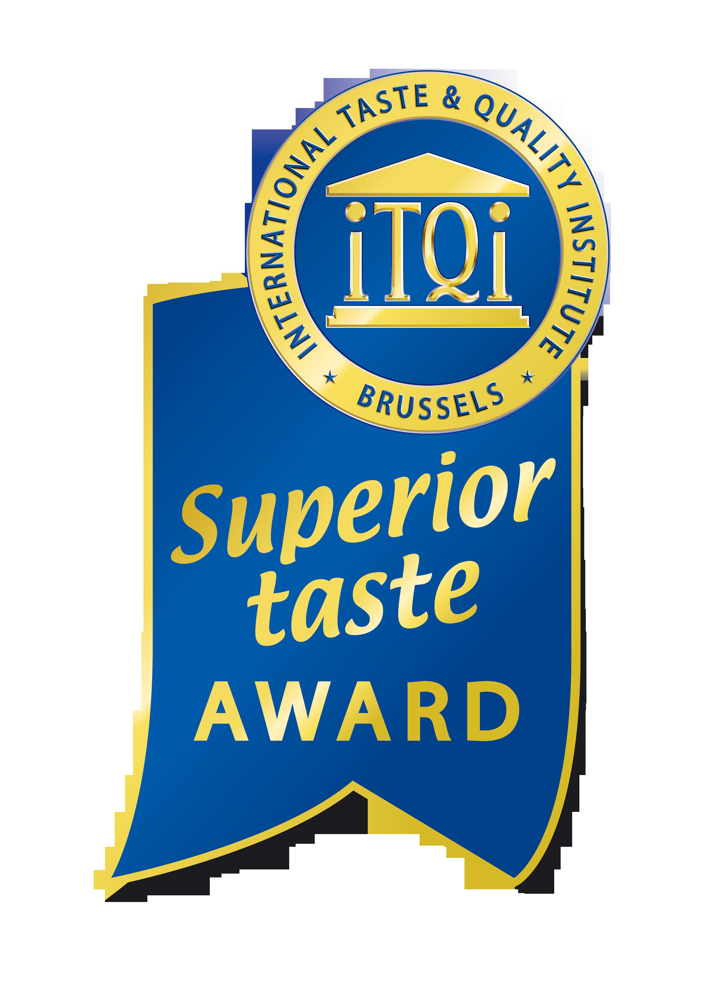 Βραβείο για άριστη γεύση από iTQI